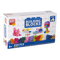 Block Tech 250 Piece Building Blocks