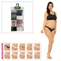Ladies Bikini Briefs 5 Pack