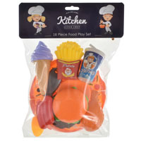 16 Piece Food Play Set