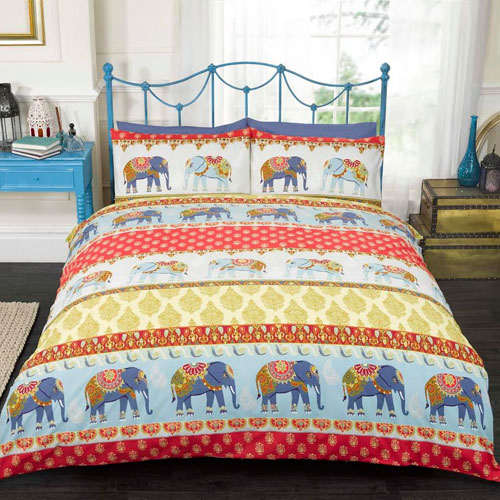 Jaipur Red Duvet Set