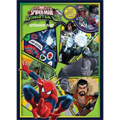 Ultimate Spiderman v Sinister 6 Sticker Pad