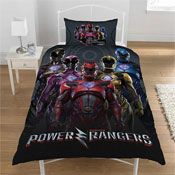 Official Power Rangers Reversible Duvet Set