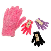 Ladies Assorted Feather Gloves