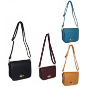 Ladies Stylish Tassel Handbag With Flap Button