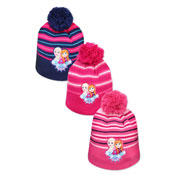 Official Girls Frozen Hat With Pom Pom