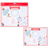 6 Pack Christmas Activity Placemats