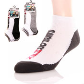 Mens Trainer Socks With Slogan
