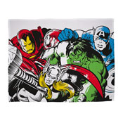 Official Marvel Comics Crop Character Fleece Blanket Throw