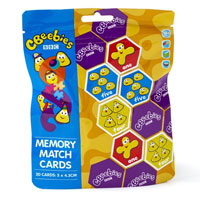Cbeebies Memory Match Cards Puzzle