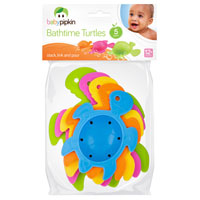 5 Pack Bathtime Turtles