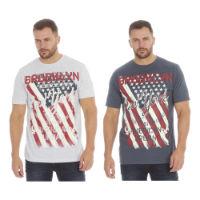 Mens Printed T-Shirt Brooklyn