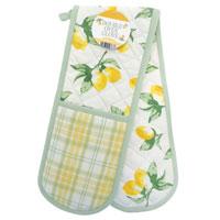 Lemons Double Oven Glove