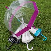 Ladies Clear Dome Umbrella