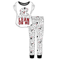 Ladies Official 101 Dalmatians Pyjamas