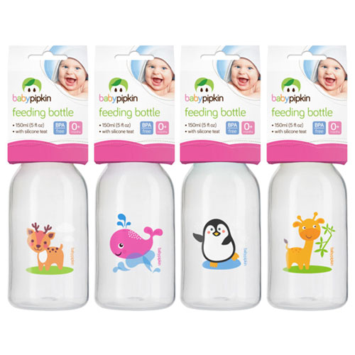 Baby Feeding Bottle With Silicone Teat 150ml