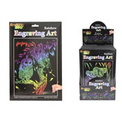 Kreative Kids Rainbow Engraving Art Set CARTON PRICE