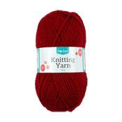 Red Knitting Yarn