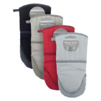 Oven Glove With Silicon Grip Assorted