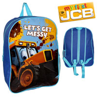 Official Joey JCB Arch Backpack With Mesh Blue