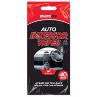 Car Interior Wipes 40 Pack