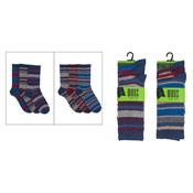 7-11 Mens Stripe Design Socks