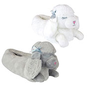 Ladies Poodle Slipper Assorted