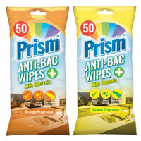 Prism Antibacterial Wipes