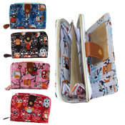 Ladies Owl Purse/Wallet Small