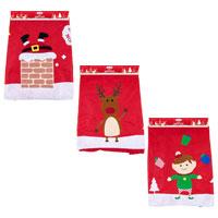 Jumbo Fabric Santa Sack