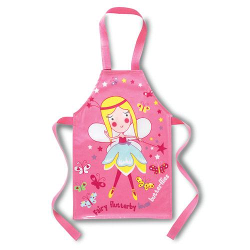 Girls Fairy Aprons PVC