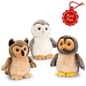 Assorted Cuddly Owls