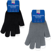 Ladies Cosy Touchscreen Gloves