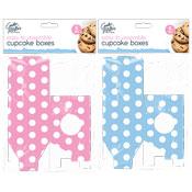 Spot Cupcake Boxes 6 Pack