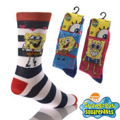 Ladies Spongebob Squarepants Socks