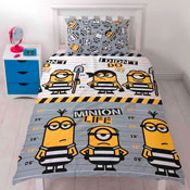 Despicable Me 3 Jailbird Reversible Duvet Single