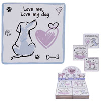 Dog Coasters I Woof You