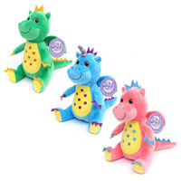 28cm Miri Moo Dragon Bright Soft Toy