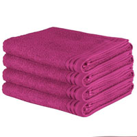 Luxury Wilsford Cotton Bath Sheet Pink
