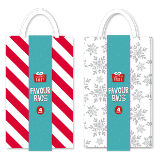 Favour Bags Christmas Party Pack Of 4