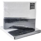 Luxury Egyptian Percale Pillow Case Pair White
