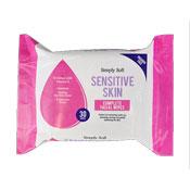 Sensitive Skin Facial Wipes 30 Pack