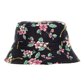 Ladies Cotton Bucket Hat Floral Print