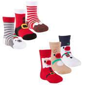 Infant Festive Cotton Rich Socks