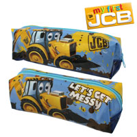 Official Joey JCB Pencil Case Blue