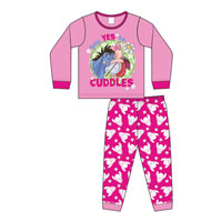 Baby Girls Official Eeyore Cuddles Pyjamas