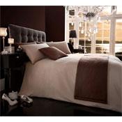5 Piece Bed in a Bag Set Diamante Mink
