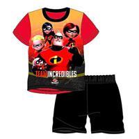 Official Boys Incredibles Shortie Pyjamas
