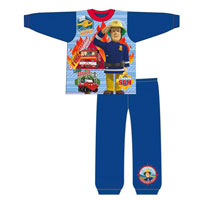 Official Boys Toddler Fireman Sam Pyjamas