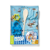 Cooksmart Kids Pirate 6 Piece Chef Set