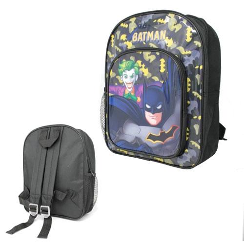 Official Batman Black Deluxe Backpack